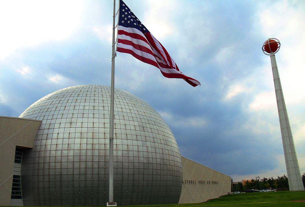 El Salón de la Fama de Baloncesto Memorial de Naismith en Massachusetts