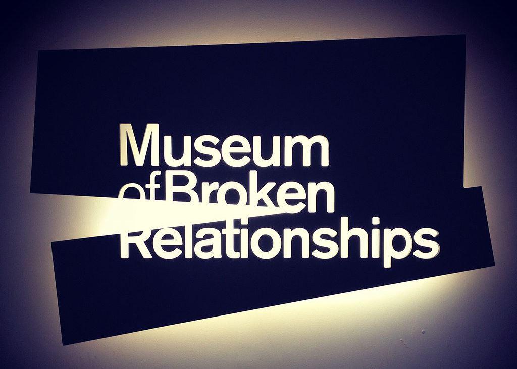 Museo de relaciones rotas en Zagreb